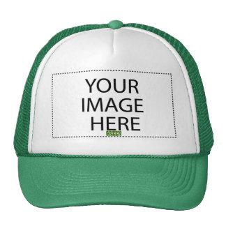 DIY Design Your Own Zazzle Gift Item V07 GREEN Trucker Hats