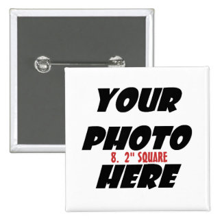 DIY Design your own Zazzle Gift items Collection 8 15 Cm Square Badge