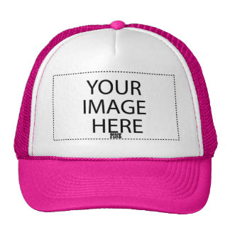 DIY Design Your Own Zazzle Gift V10 PINK Cap
