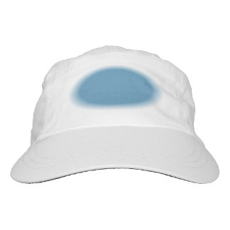 DIY FEATHERED OVAL French Blue G03F Hat
