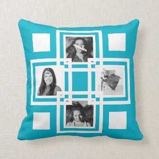 DIY Instagram Photos Double Sided Throw Pillow