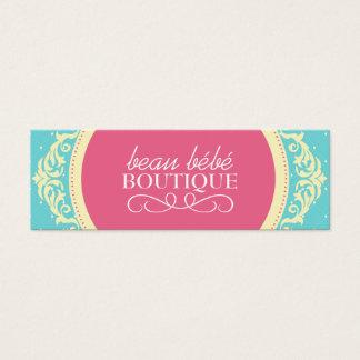 DIY - Kids Boutique Hang Tags Mini Business Card