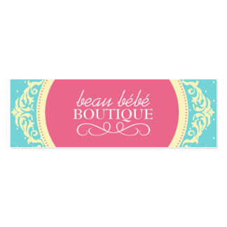 DIY - Kids Boutique Hang Tags Pack Of Skinny Business Cards