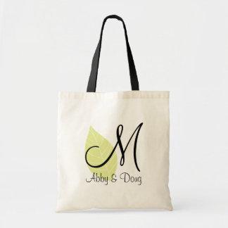 DIY Leaf Logo Tote Tote Bag