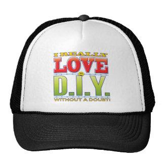 DIY Love Face Cap