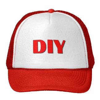 DIY Make Your Own Custom Red Trucker Hat