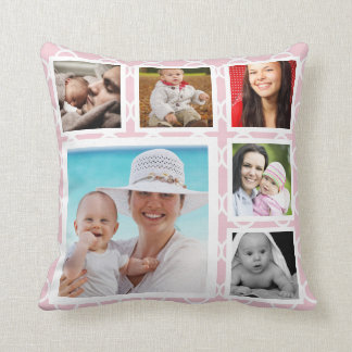 DIY Make Your Own Personalized Photo Template Throw Pillow