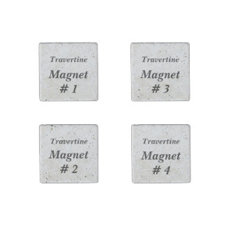 DIY Make Your Own Stone Magnets V03A Travertine Stone Magnet