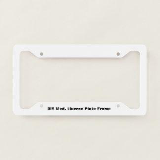 DIY Medium License Plate Frame