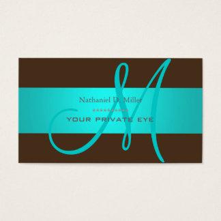 DIY monogram + background color