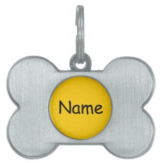 """DIY Name ~ Bone Pet Tag 1.5"""" x 1.5"""""""
