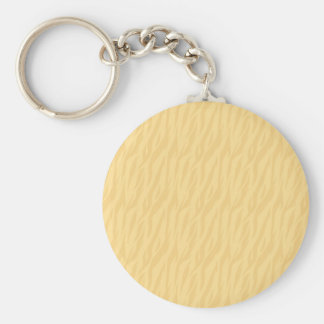 DIY Pale Gold Zebra Print Gift Collection Basic Round Button Key Ring