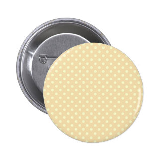 DIY Peach Polka Dot Background Zazzle Gift 6 Cm Round Badge