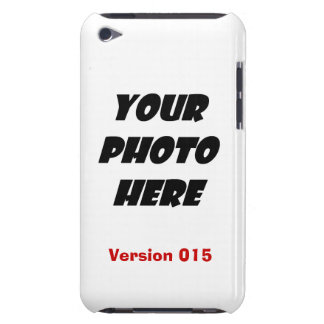 DIY Personalize Your PHOTO CASE Template V015 Barely There iPod Cases