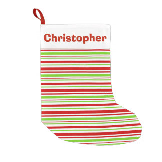 DIY Personalized - Print Christmas Stocking