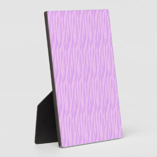 DIY Pink Zebra Print Design Your Own Zazzle Gift Photo Plaque