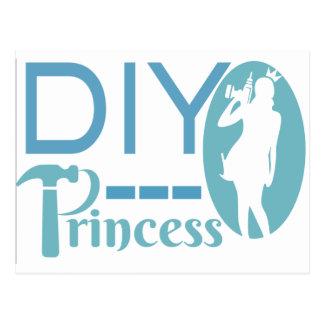 DIY Princess Postcard