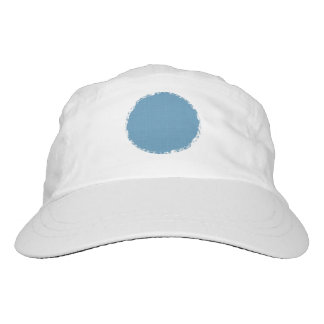 DIY ROUND CHALK EDGES French Blue G03E Hat