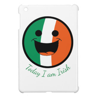 DIY St Patrick Irish Flag Smiley Face Hooligan iPad Mini Cover