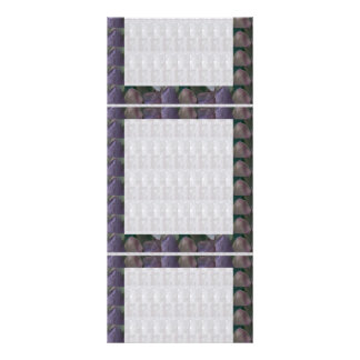 DIY TEMPLATE 1 side blank UNIQUE GRAPHIC PORTFOLIO Customised Rack Card