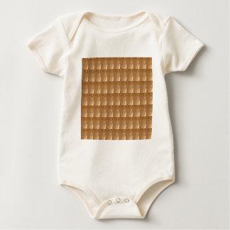 DIY Template  24% Gold Sparkle Jewel  Background Baby Bodysuit