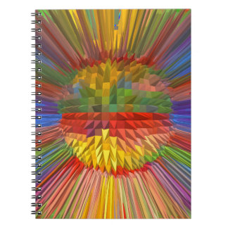 DIY Template Diamond Flower Digital Graphic GIFTS Note Books