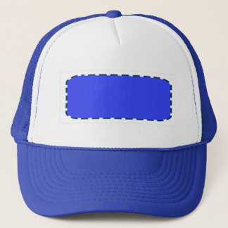 DIY Template easy add color text photo personalize Trucker Hat