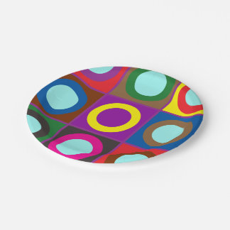 DIY template easy add PHOTO TEXT design EVENT NAME Paper Plate