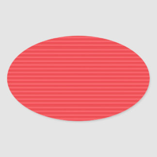 DIY Template Mango Skin RED Organic ART GIFTS FUN Oval Stickers