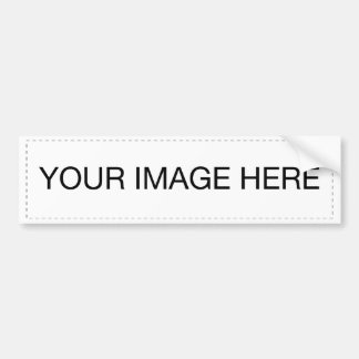DIY Templates easy add TEXT PHOTO bulk pricing Bumper Sticker