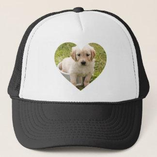 DIY Trucker Hat: Custom Heart Shaped Photo Trucker Hat