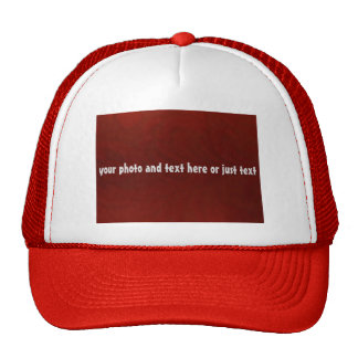 DIY trucker hat for teams, companies, families
