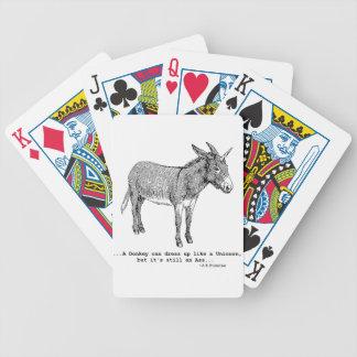 DIY UnicornDonkey ver1 Bicycle Playing Cards