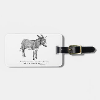DIY UnicornDonkey ver1 Luggage Tag