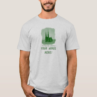 DIY Vintage Old image of St Patrick Cathedral T-Shirt