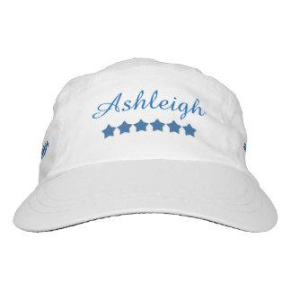 DIY Woven Performance Hat BLUE STARS Custom A03