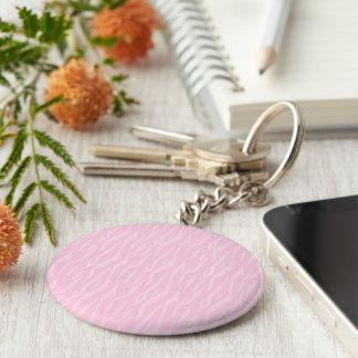 DIY You Design It Make Your Own Pink Zebra Gift Key Ring