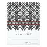 DIY You Score - Folding Tent Wedding Place Cards Custom Invite