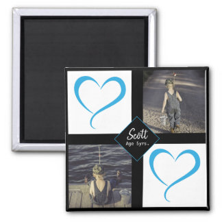 DIY Young Child Love Photos Magnet