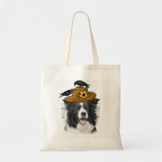 Dizzy Dogz~Border Collie Tote~Halloween Tote Bag