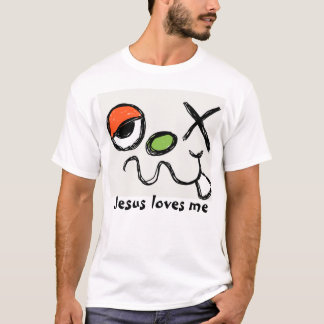 Dizzy monster, Jesus loves me T-Shirt