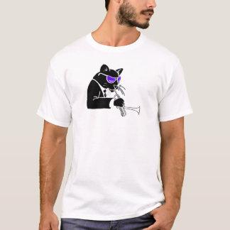 Dizzy Trumpet Cat T-Shirt