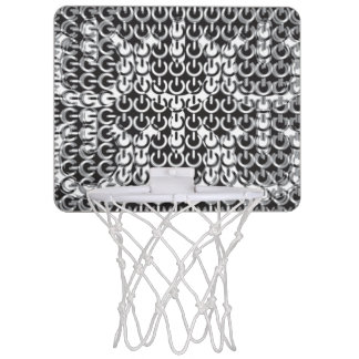 Dizzy with Power (Black and White) Mini Basketball Backboards