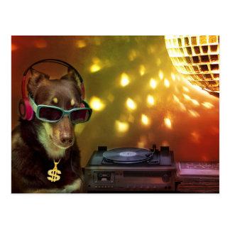 DJ Ally in da House Postcard