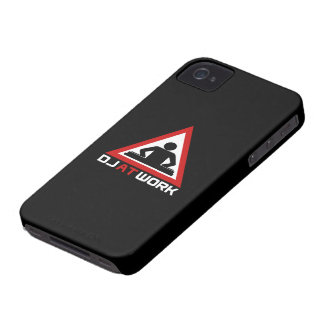 DJ at work BlackBerry Bold 9700/9780 Case Case-Mate iPhone 4 Cases