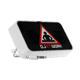 DJ at Work Portable Speakers