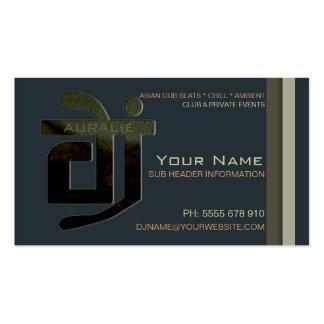 DJ Aural Beats Music Business Card