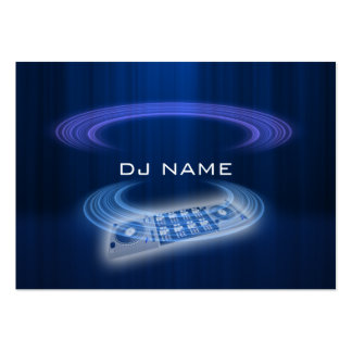 dj blue pack of chubby business cards