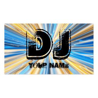 DJ PACK OF STANDARD BUSINESS CARDS