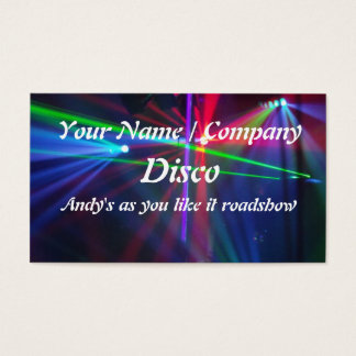DJ Business Card 1